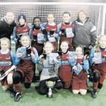 Woodside 2nd in County SSP Girls Football
