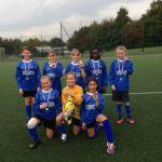Deneholm win year 5/6 girls football