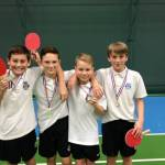 Gable Hall win U13 table tennis