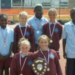 Woodside 8th in Essex High 5 Netball Finals
