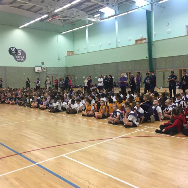 Year 3/4 Sportshall Athletics @ BSV