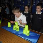 Gibson cluster speed stacking competition.